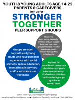 2019 Stronger Together Peer Support Groups